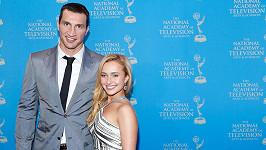 Hayden Panettiere a Vladimir Kličko se těší z dcerky.