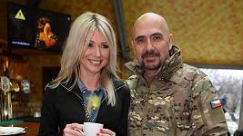 Tina Pletánková s Čestmírem Řandou