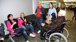 Hanku Krampolovou jsme viděli v podstatě jen na letišti, v Tunisku byla jen na pokoji.