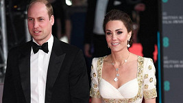 Vévoda a vévodkyně z Cambridge byli čestnými hosty vyhlašování cen BAFTA.
