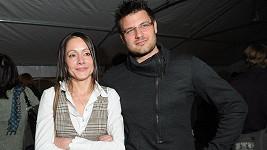 Petr Svoboda s manželkou Lucií.
