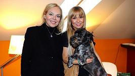 Kateřina Hrachovcová ukázala Dagmar Havlové účes svého psa