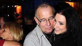 Ivan Vyskočil s přítelkyní Romanou.