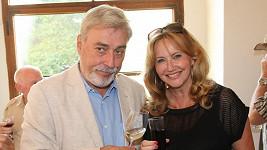 Jan Rosák s manželkou