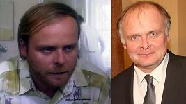 Igor Bareš v roce 1998 a dnes