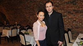 Miroslav Hrabě s přítelkyní Miriam