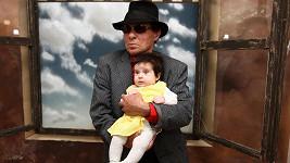 Jan Saudek s dcerou