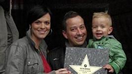 Petr s manželkou Zuzanou a synem Matyasem.