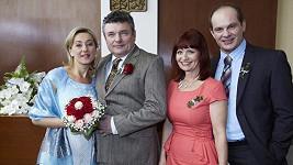 Seriálovou postavu Vandy Hybnerové čeká svatba.