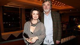 Vladimír Kratina s manželkou Jitkou