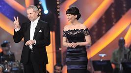 Marek Eben a Tereza Kostková byli ve StarDance vždy sehraná dvojice.