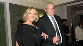 Helena Vondráčková s manželem Martinem Michalem