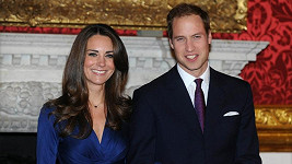 Královští manželé William a Kate.