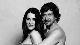 Lucie s manželem Davidem