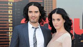 Katy Perry a Russell Brand ještě jako manželé.