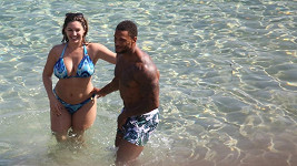 Kelly Brook s Davidem McIntoshem