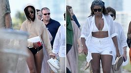 Malia Obama (19) a její matka, bývalá první dáma USA Michelle (53) si odskočily na Floridu.