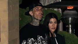 Kourtney Kardashian a Travis Barker