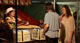 S partnerkou byl Bárta poprvé na karlovarském festivalu.