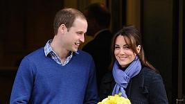 William a Kate se těší na narození potomka.