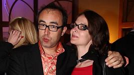 Marian Čurko s těhotnou manželkou. V galerii uvidíte víc!