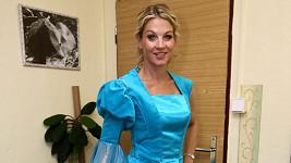 Sabina Laurinová v kostýmu.