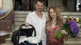 Tereza a Ivan zářili štěstím.