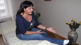 Dagmar Patrasová nemá ještě nohu v pořádku.