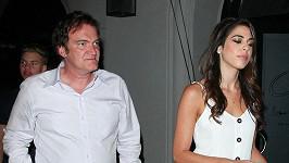 Quentin Tarantino je zamilovaný.