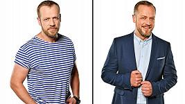 Filip Blažek v seriálu Krejzovi žije ve velké rodině.