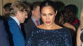 Vévodkyně Meghan na charitativním představení v Royal Albert Hall