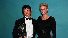 Sylvester Stallone a jeho bývalá žena Brigitte Nielsen.