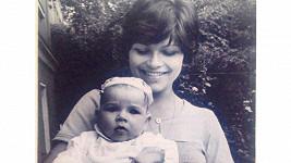 Alena Šeredová s maminkou