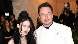 Elon Musk a Grimes mají syna.