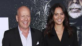 Bruce Willis s manželkou Emmou