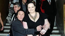 Jan Saudek s přítelkyní Pavlou Hodkovou