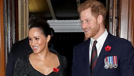 Harry a Meghan se na Vánoce trhnou od královské rodiny.