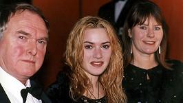 Kate Winslet s maminkou Sally a tatínkem Rogerem