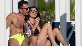 Gigi Buffon s partnerkou Ilariou