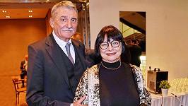 Martin Huba s manželkou Dagmar Hubovou