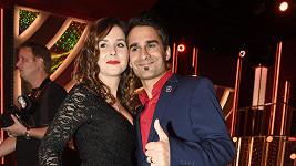 Radek Banga s manželkou