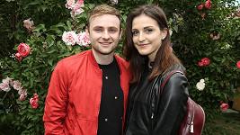 Jakub Štěpán s přítelkyní Adélou