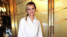 Monika Absolonová už je zase jako tyčka.