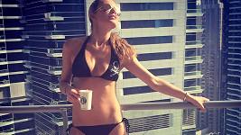 Simona Krainová si užívá na dovolené v Dubaji.