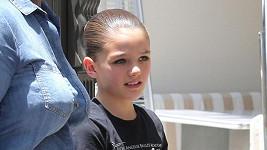 Malé dceři Katie Holmes (38) a Toma Cruise (54) je už jedenáct let.
