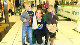 Míša Maurerová s dětmi