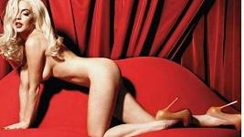 Lindsay Lohan se během focení pro Playboy pořádně odvázala.