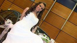 Eliška Jandová jako nevěsta