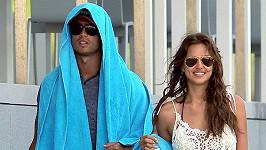 Christiano Ronaldo se svou přítelkyní Irinou Shayk na dovolené v Portugalsku.