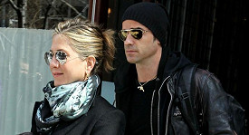Jennifer Aniston s Justinem Therouxem